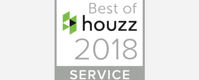 Houzz Award Winner 2018