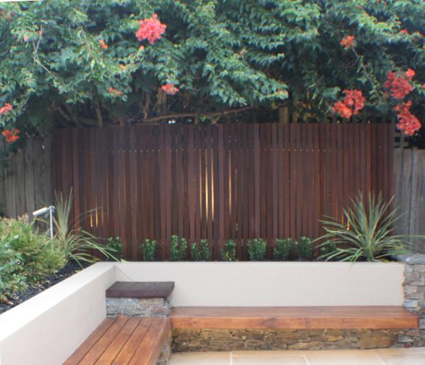 Suburban garden makeover