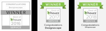Houzz Award Winner 2016-2018