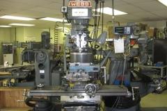 VERTICAL MILLING MACHINE (METAL WORKING)