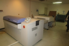 DARK ROOM PLATE SETTER AND PROCESSOR (PRINTING)