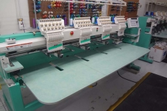 EMBROIDERY EQUIPMENT (TEXTILES)