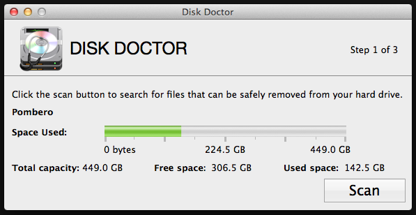 best cleaner app on mac disk doctor