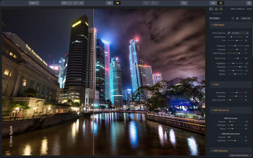 best mac apps -Skylum Aurora HDR
