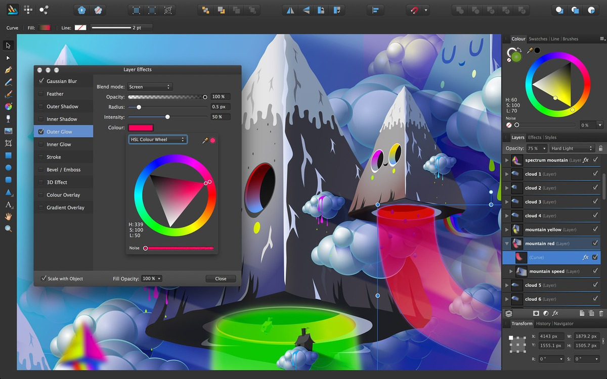 best Mac photo editor for Mac - Affinity Photo image