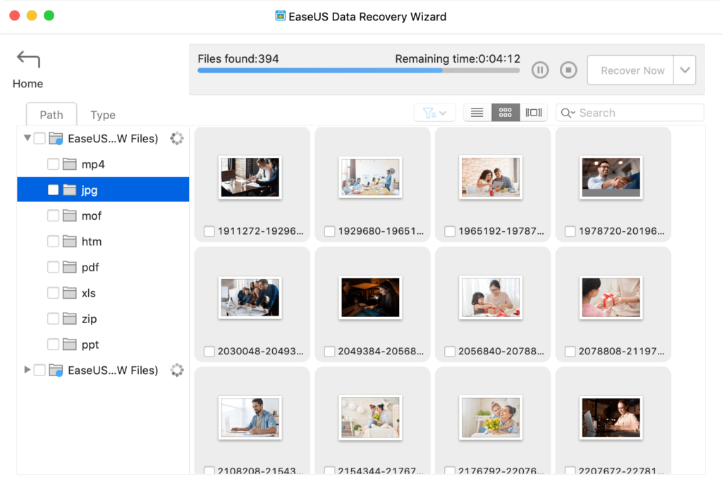 best Mac data recovery software no. 6 - easeus data recovery Mac