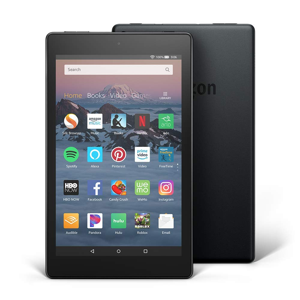 best tablet for travel - Fire HD 8