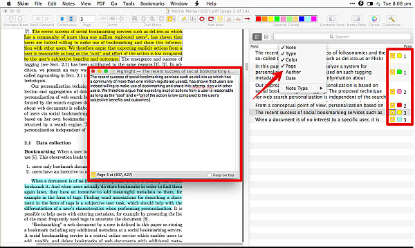 skim pdf editor to edit PDF on mac