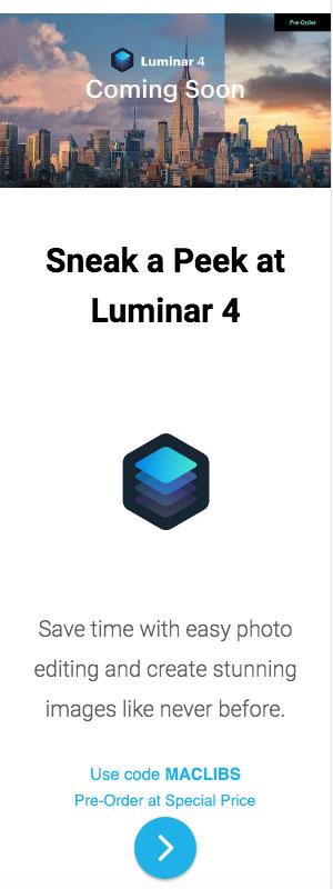 Skylum Luminar promo code