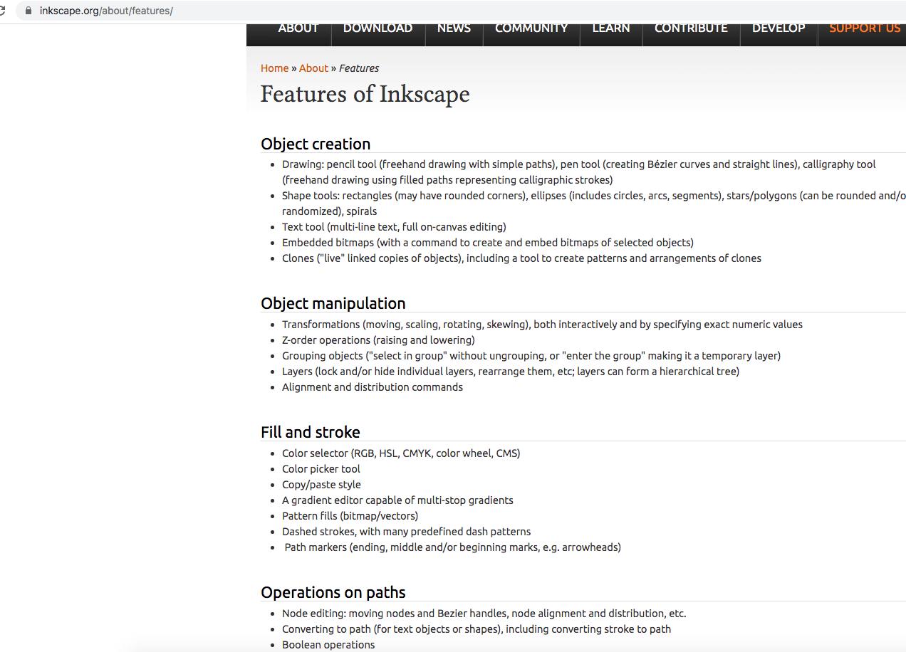 Inkscape edit pdf free features