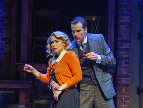 Riverside's '39 Steps': Whodunit delivers frenzied fun