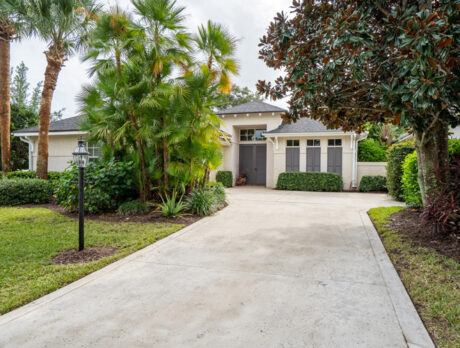 Custom Indian River Club home is conveniently located
