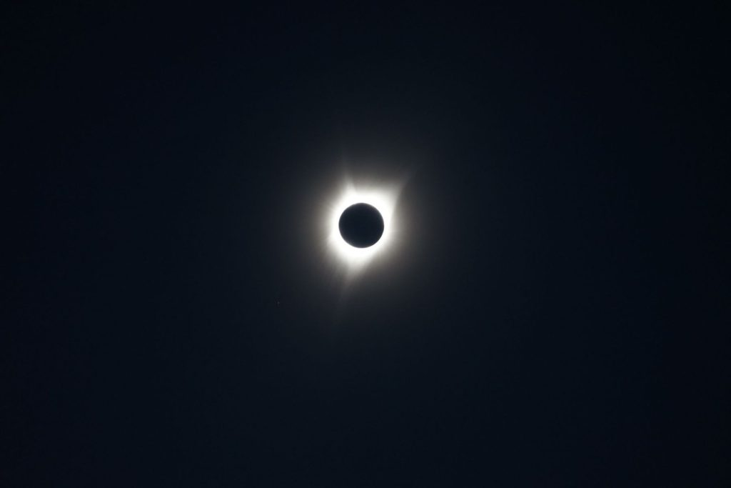 Total Solar Eclipse: August 21, 2017.