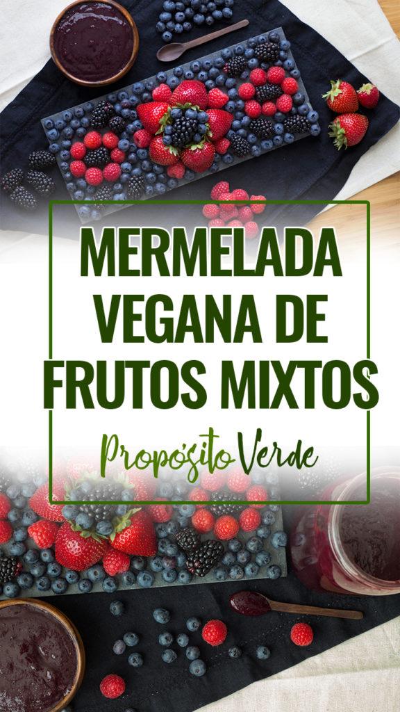 mermelada vegana de frutos mixtos