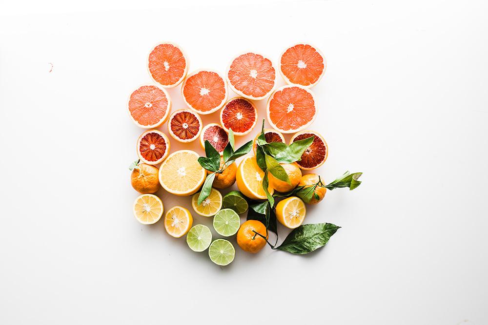 citricos en rodajas