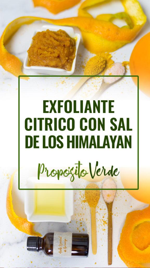 Esta receta para hacerla tu misma en casa es un Exfoliante Natural cítrico con sal de los Himalaya, pero ¿Sabes cómo se beneficia tu piel de la exfoliación?