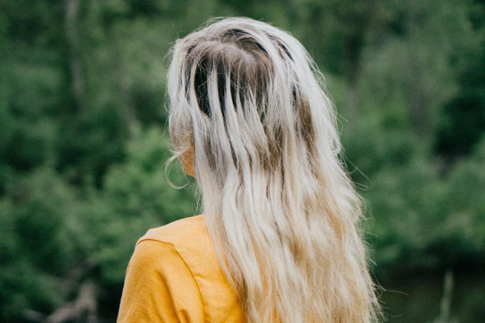 cabello decolorado dañado
