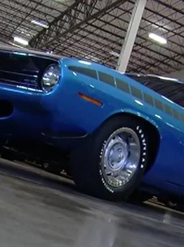 AAR Cuda 1970 blue plymouth