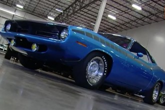 AAR Cuda 1970 blue plymouth