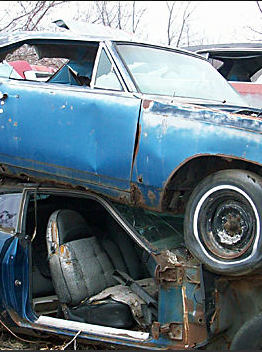 rusty mopars minnesota barn finds junkyard