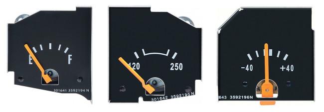 OER - 1972-76 Mopar Fuel Temp Amp Gauges (High Res)