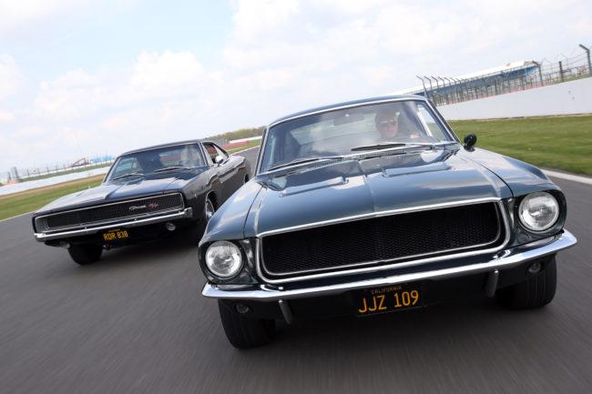 Cars from Bullitt
