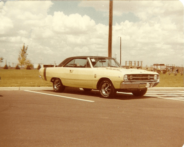 Yellow Dart 1980's