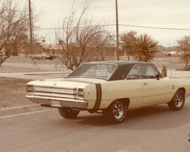 Yellow Dart 80's sometime