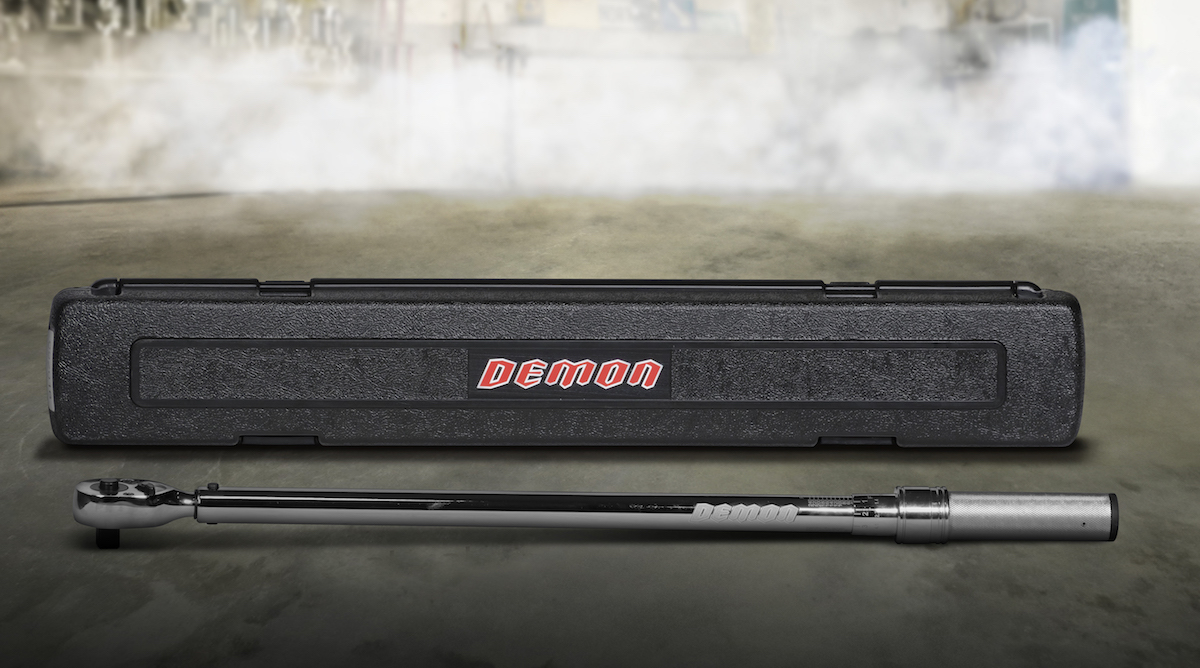 In collaboration with Dodge, Snap-on Business Solutions delivers what customers need to take the 2018 Dodge Challenger SRT Demon from the street to the drag strip and back again. This is a special, limited-production set of tools for the Dodge Challenger SRT Demon that includes this torque wrench.