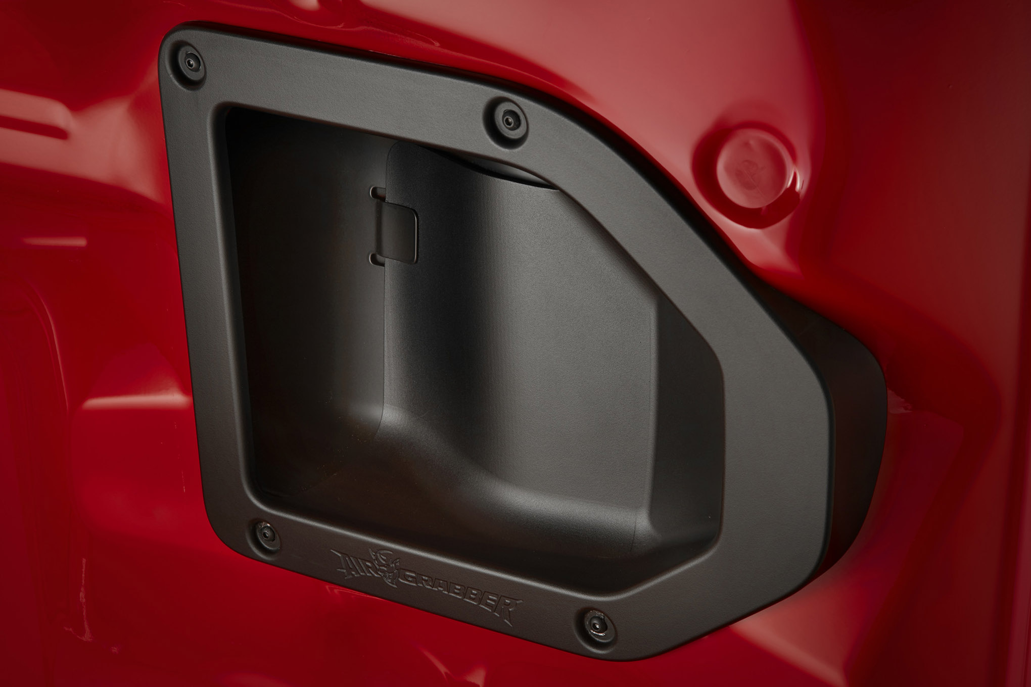 The standard Air Grabber intake system features a significantly