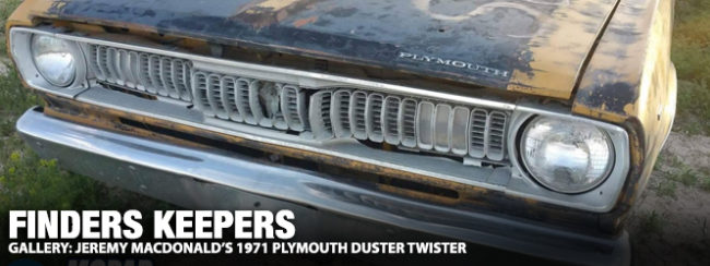 plymouth duster wiring harness finders keepers jeremy macdonald s 1971 plymouth duster twister  1971 plymouth duster twister
