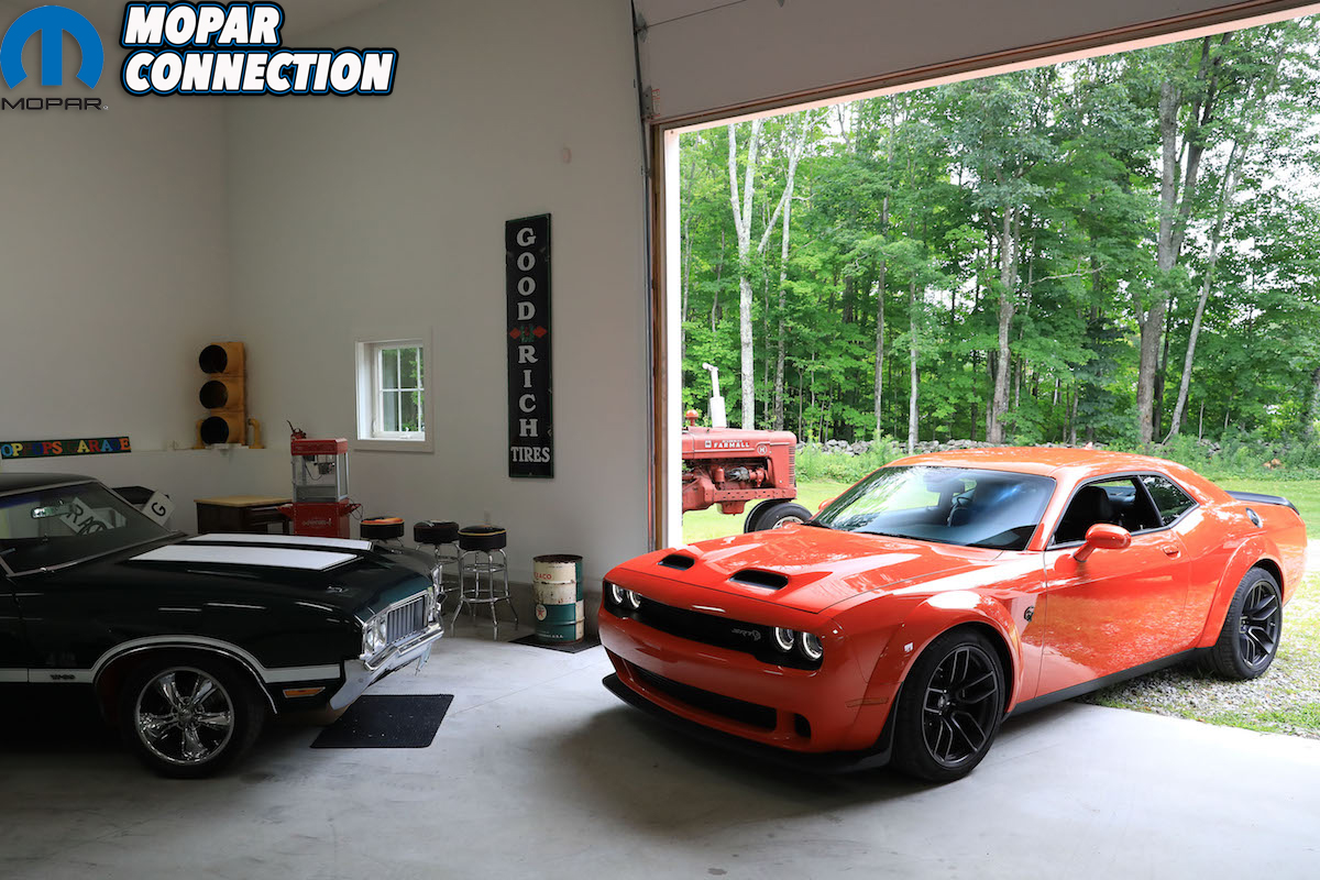 Random muscle car garage we found on the way to the track