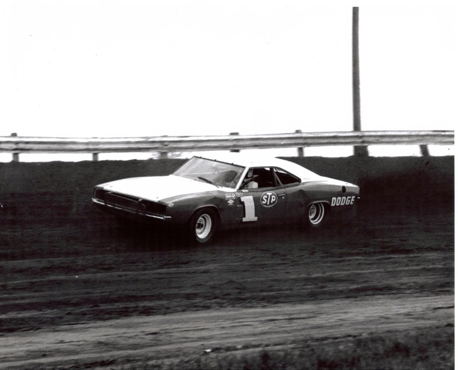 Ernie Derr dominated IMCA in a Dodge(Lee Ackerman collection)