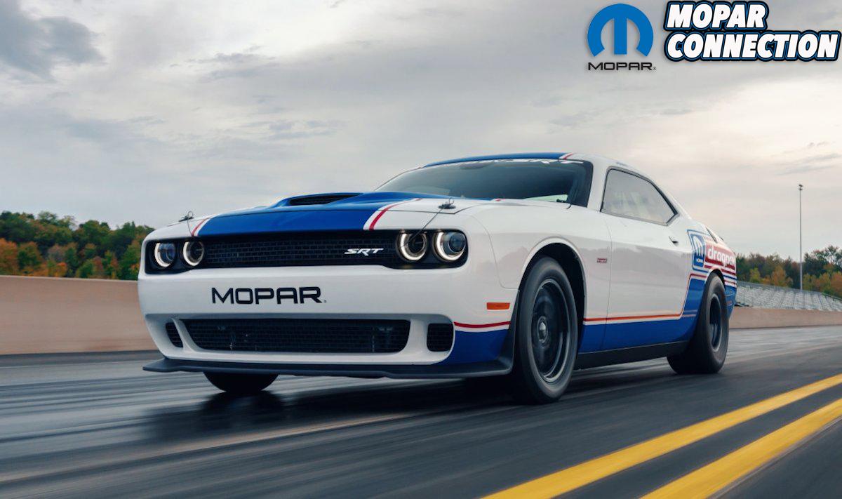 The 2020 Mopar Dodge Challenger Drag Pak, unveiled at the 2019 S