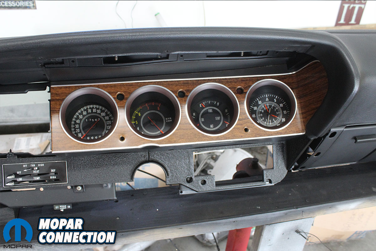 1970 Plymouth 'Cuda Dash Assembly