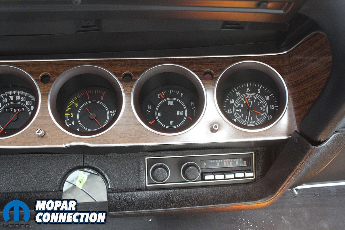 1970 Plymouth 'Cuda Dash Assembly