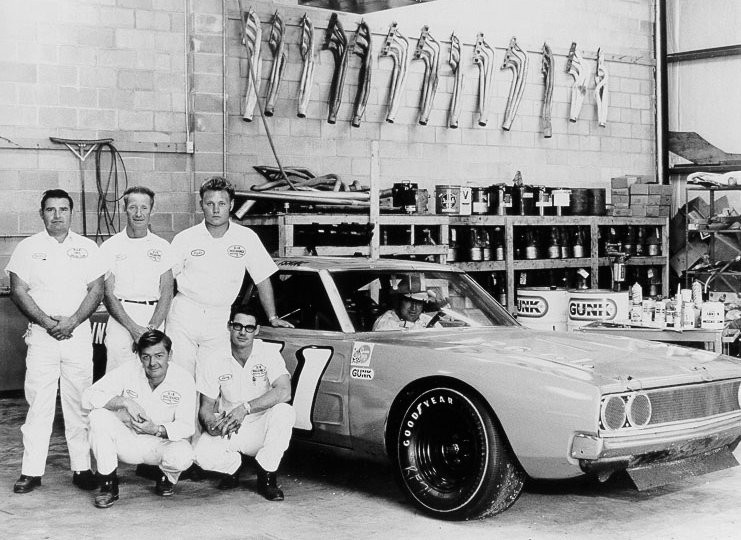 K&K Dodge and crew in shop