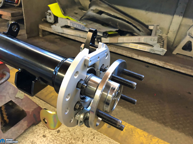 033-Baer-Brakes-Axle-Retainer-Plate-Caliper-Adapter-Park-Brake-Charger