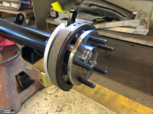 034-Baer-Brakes-Axle-Retainer-Plate-Caliper-Adapter-Park-Brake-Charger