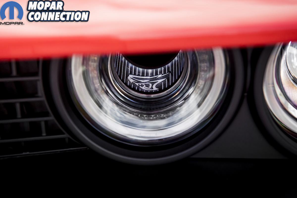 2020 Dodge Challenger SRT Super Stock: Standard illuminated Air