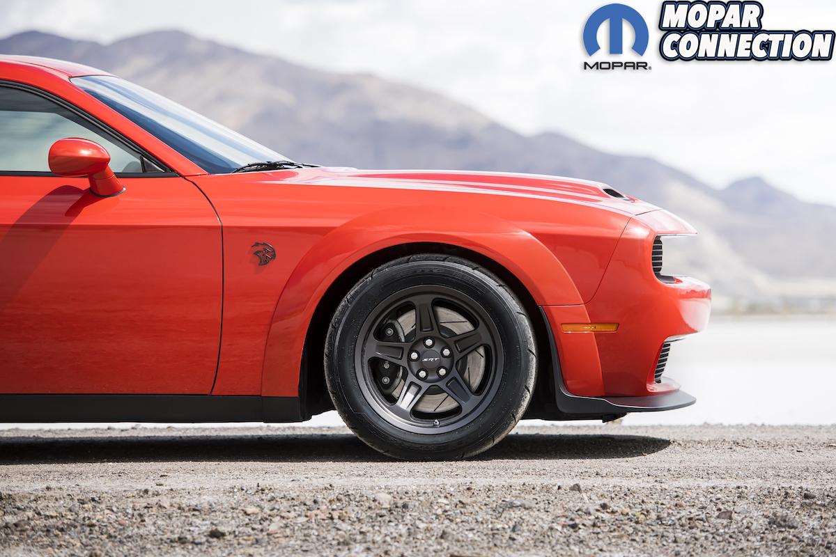 2020 Dodge Challenger SRT Super Stock: Equipped with standard li