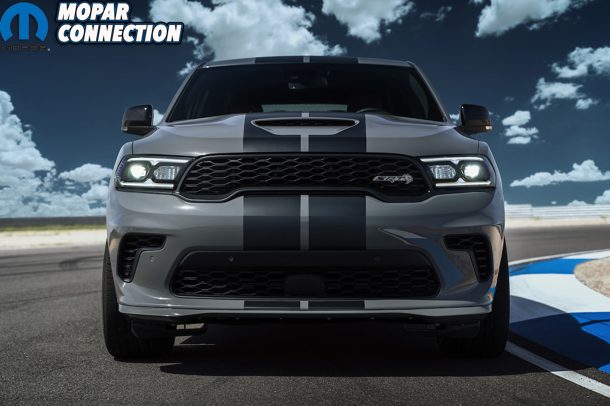 Dodge Durango SRT Hellcat: The refreshed exterior on the Durango
