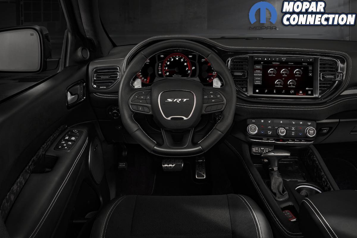 2021 Dodge Durango SRT Hellcat: The new interior feels wider and