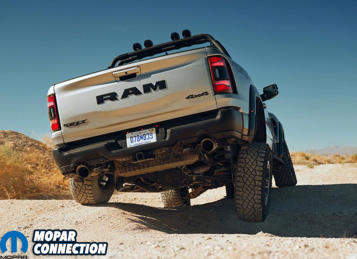 2021 Ram 1500 TRX wheel articulation