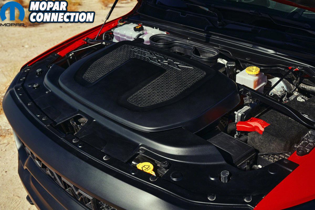 2021 Ram 1500 TRX under hood air box