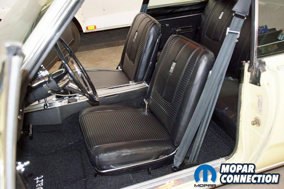 Seat Upholstery Restoration