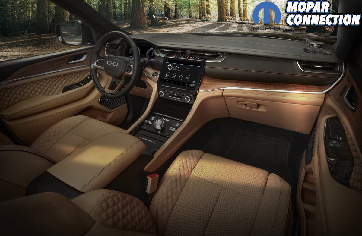 The all-new 2021 Jeep® Grand Cherokee L Summit Reserve model'