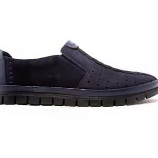 casual shoes easy slip navy for men