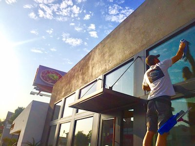 Cleaning Commercial Building Windows | Los Angeles