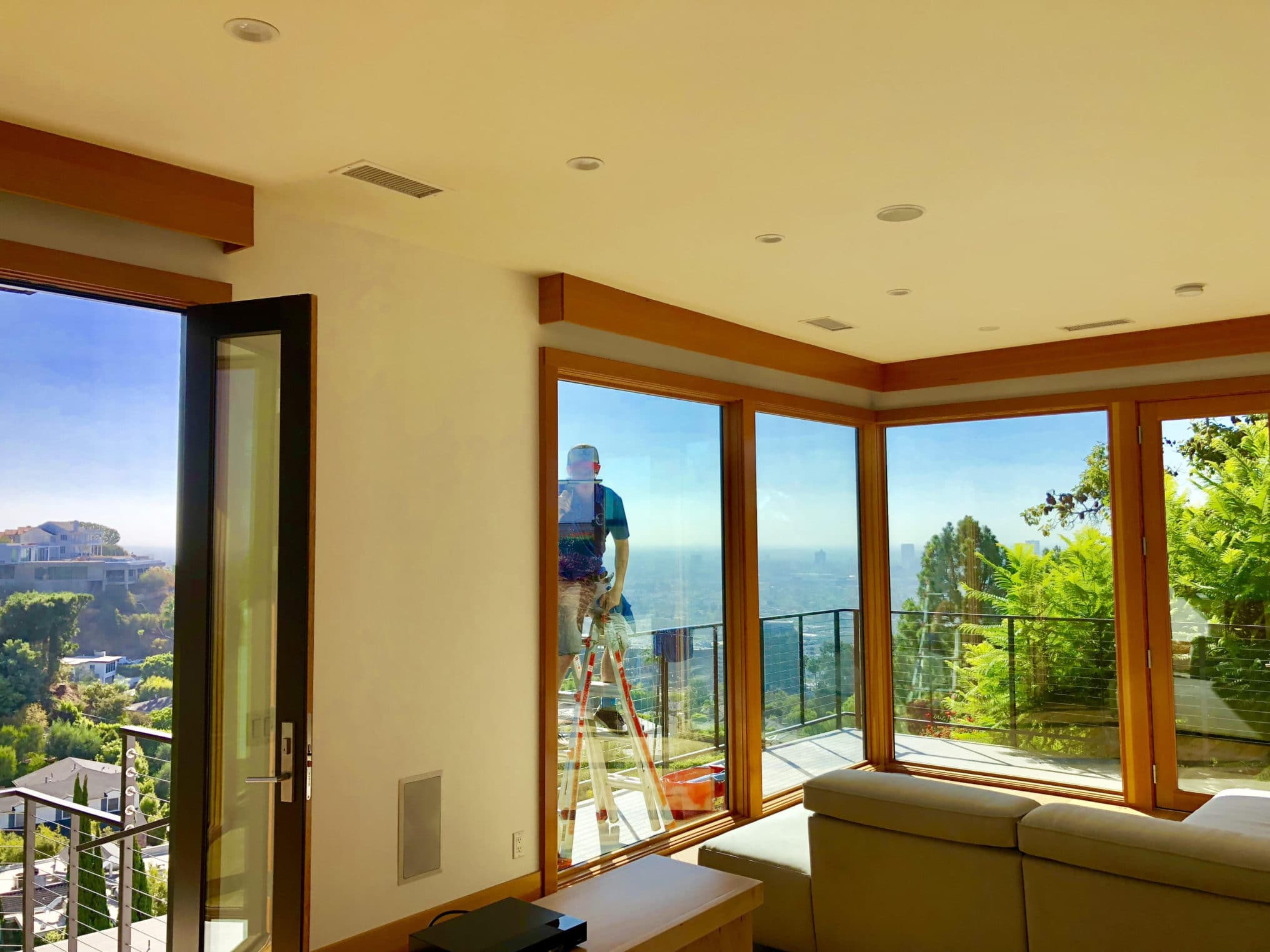 Los Angeles Residential Window Cleaning Tips: Hard Water Stains